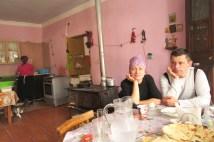 Obiad w Adishi, z pozdowieniami dla Moniki i Adama :)