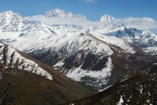 widok z przełęczy Latphari