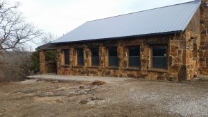 """Camp McClintock """"Cubs"""" Cabin. They even provide cots for those of who didn't bring one."""