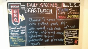 Beastwich. Something different each day.