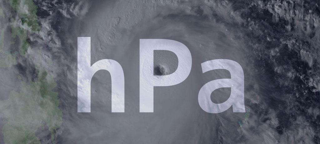 hPa ヘクトパスカルって?