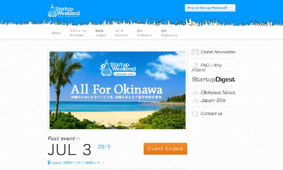 Startupweekend Okinawa