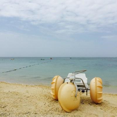 残波ビーチ~のんびりサンセットを堪能 ~