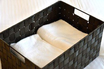 アメニティ:部屋に備え付けのタオル