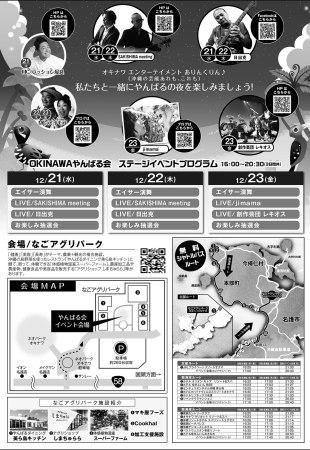 OKINAWA やんばる会のフライヤー2