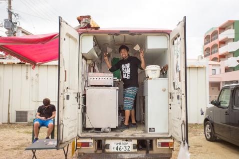 The Guacamole Burrito Truck | Okinawa Hai!