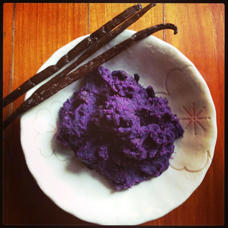 Cooking Local: Mashed Beni Imo l Okinawa Hai!