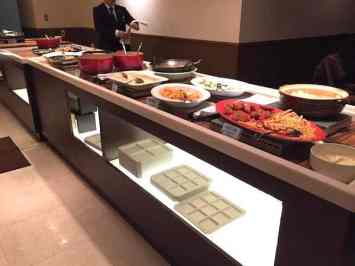 Laid out Buffet at the Grand Resort Mer Okinawa City