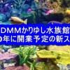 DMMかりゆし水族館 2020年に開業予定の新スポット