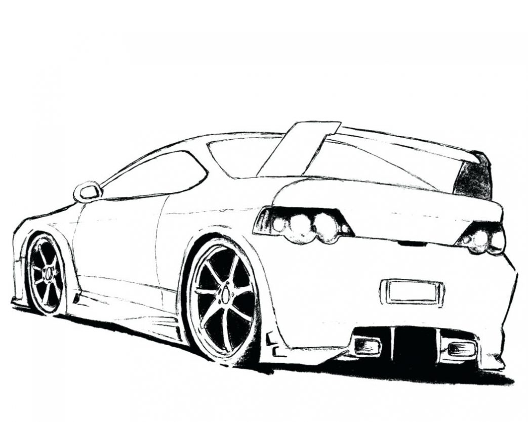 Coloring Pages Of Ford Mustangs Collection