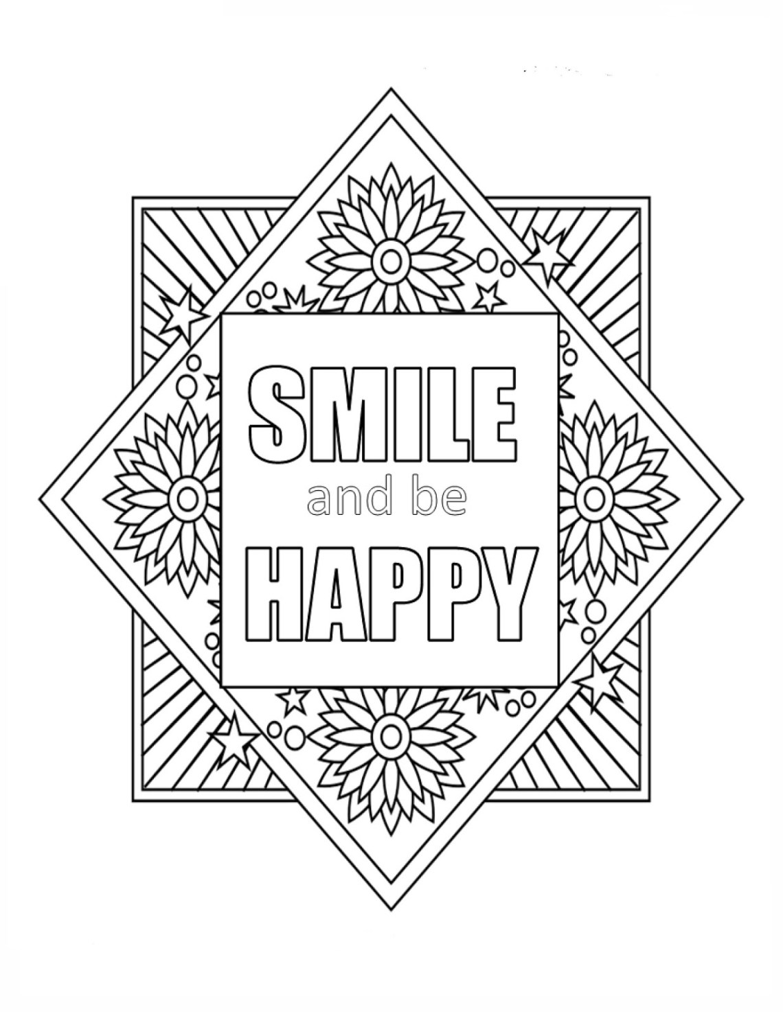 Printable Inspirational Quotes Coloring Pages Gallery ... | free printable coloring pages inspirational quotes