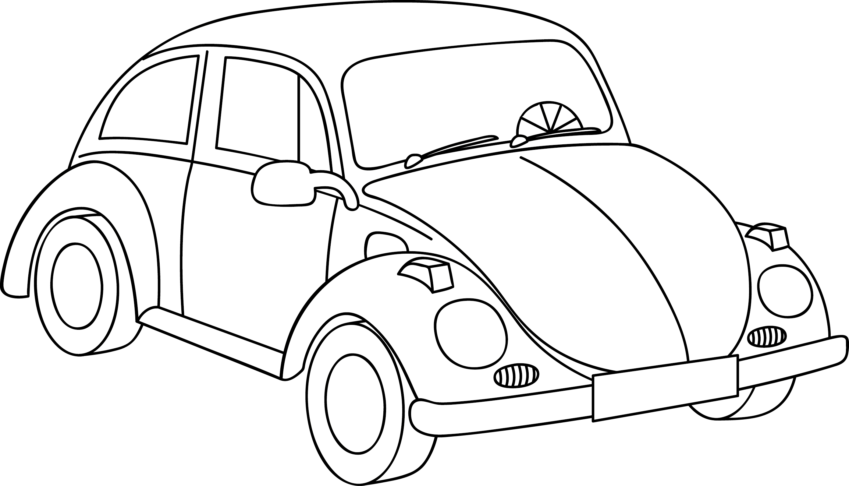 Vw Beetle Coloring Pages To Print