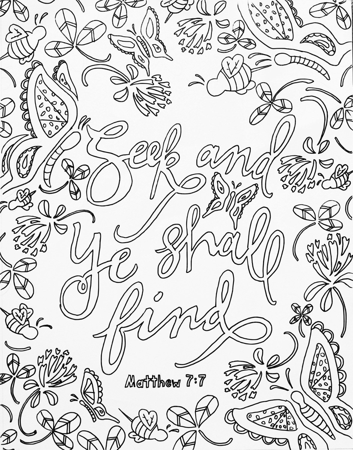 Free Scripture Coloring Pages Download