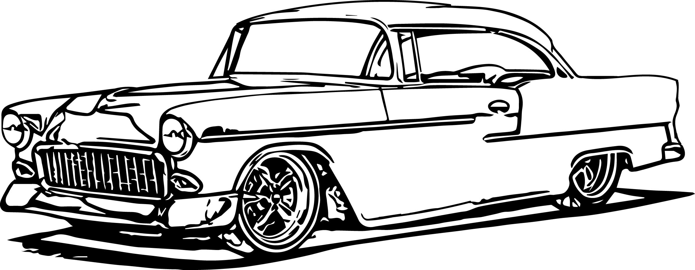 Hot Rod Coloring Pages To Print Download