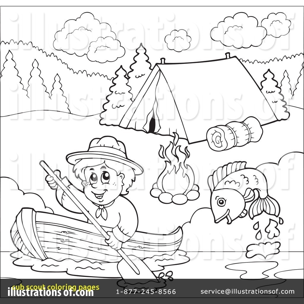 Cub Scout Coloring Pages Gallery