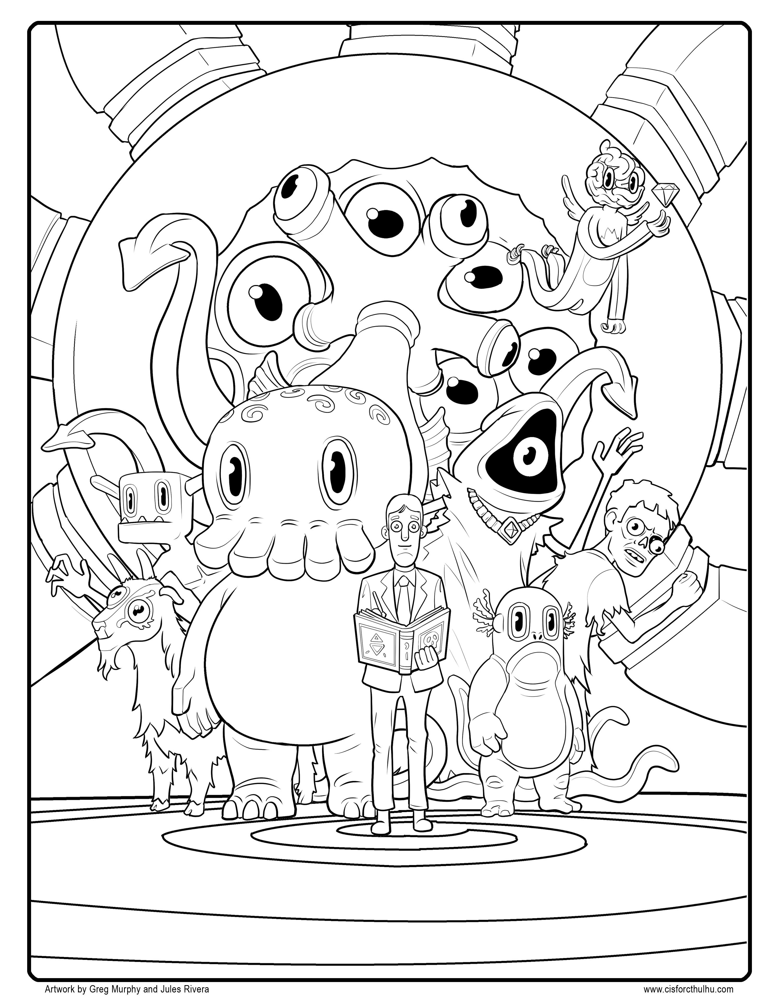 Ems Coloring Pages Collection