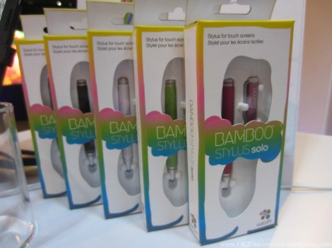 Like the Bamboo Stylus Mini, it comes in 5 colours.