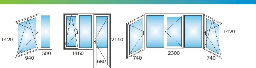 Окна в двухкомнатной распашной квартире дома П44ТМ С