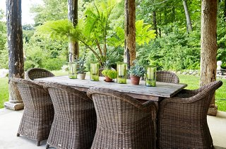 your outdoor dining space