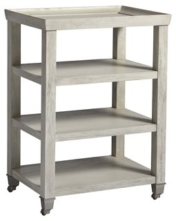 Liam Side Table, White