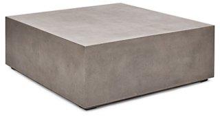 block 47 coffee table gray concrete