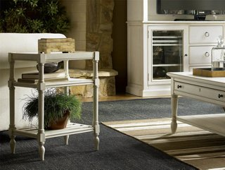 Sarah Side Table, White