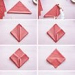Your Step By Step Guide To A Heart Napkin Fold