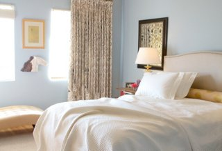 White Bedding Ideas Interior by Suzan Fellman