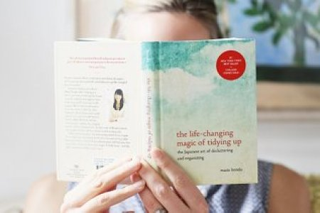 8 Decluttering Lessons Learned from the Marie Kondo book I might have been too lazy to declutter  but I was down for some reading