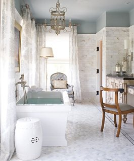 Decorating Ideas for White Bathrooms on White Bathroom Design Ideas  id=27299