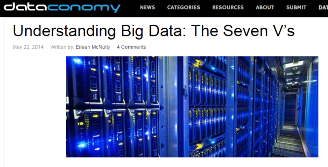 7Vs of big data