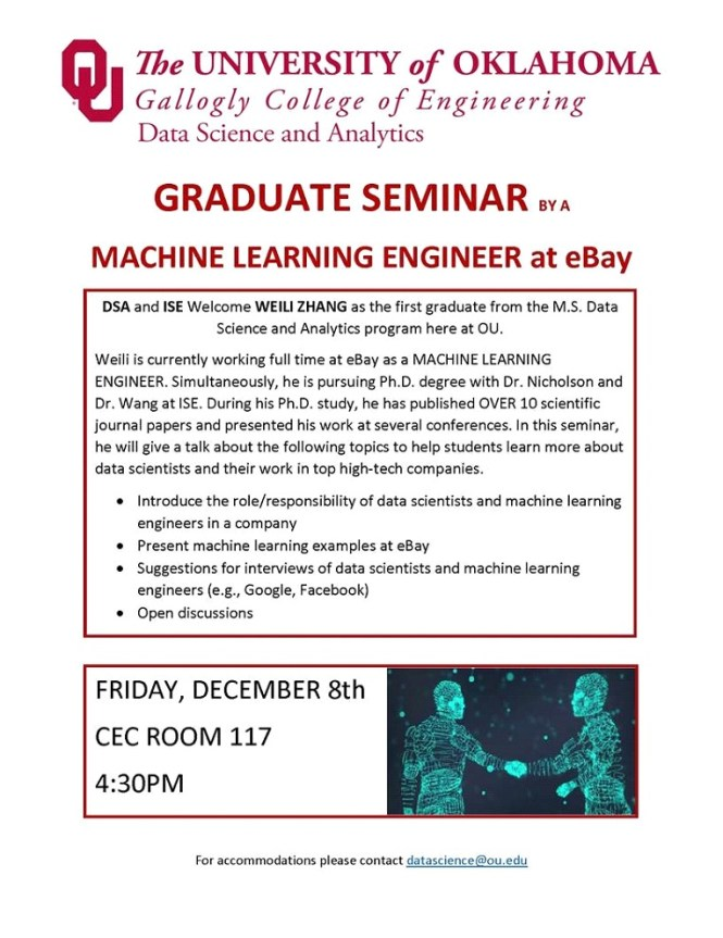 eBay Machine Learning Graduate Seminar
