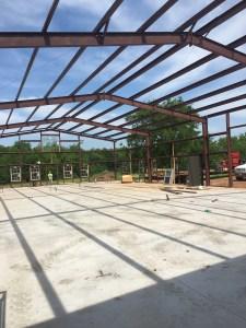 Steel Frame Building in Oklahoma