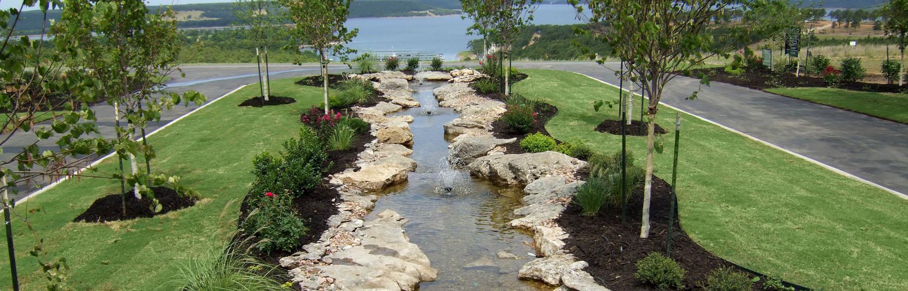 Tulsa Landscape Design | Tulsa Landscape Development ... on Outdoor Living And Landscapes id=56308