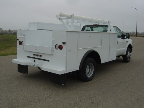 Dakota service bodies for fleets in OKC