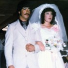 Frankie and Connie Marquez at their wedding on Feb. 27, 1983.