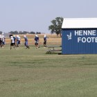 Football has helped bridge cultures in Hennessey, where passion for the sport is evident even in mid-May.