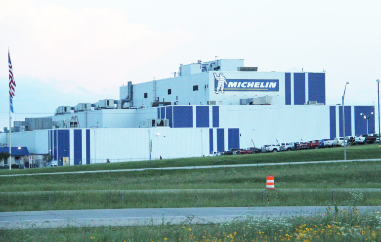 Michelin is receiving $10 million in funding from the Pooled Finance Act program for upgrades and equipment at its tire plant in Ardmore.