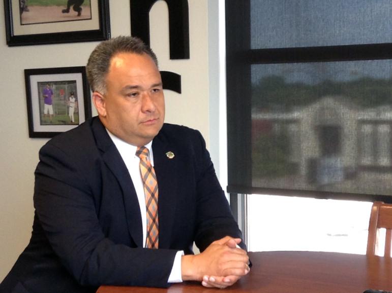 Nico Gomez, CEO of the Oklahoma Health Care Authority.