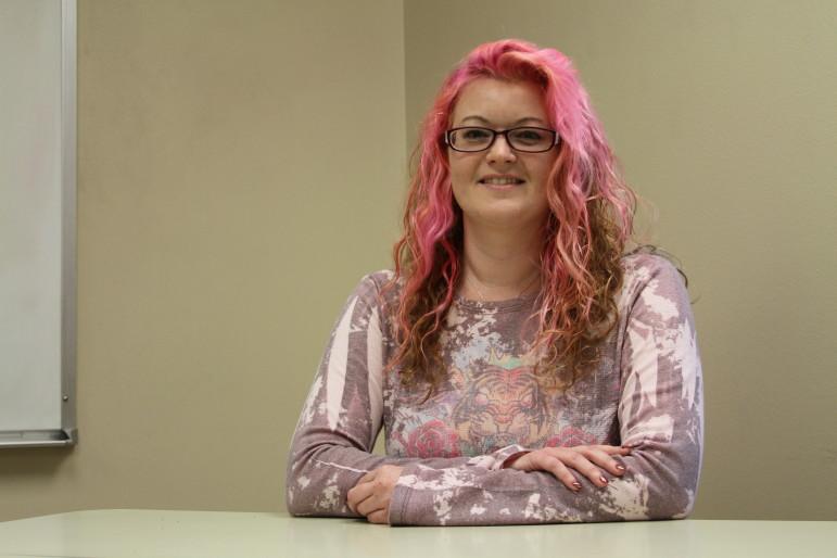 Tulsa Community College student Eve Nixon.