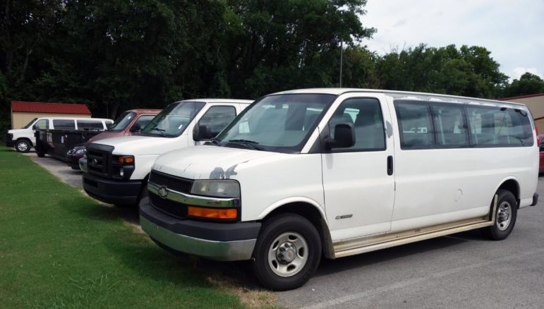 Green Country Mental Health Center owns a fleet of vehicles used to assist clients who lack transportation.