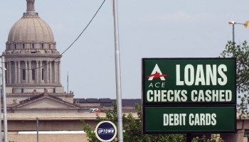 Loan sign near Capitol