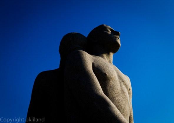 Statue i frognerparken