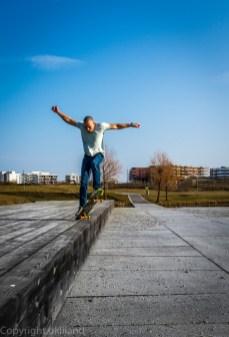Skater (Dag) i park