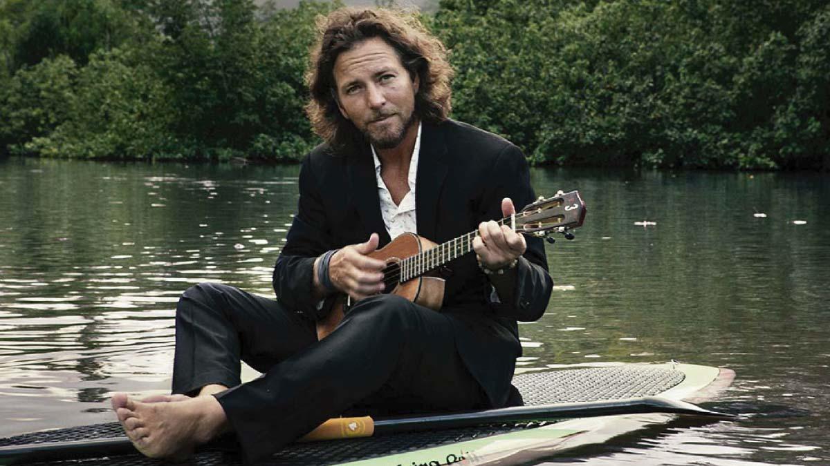 Eddie Vedder lançou 4 músicas novas no Natal