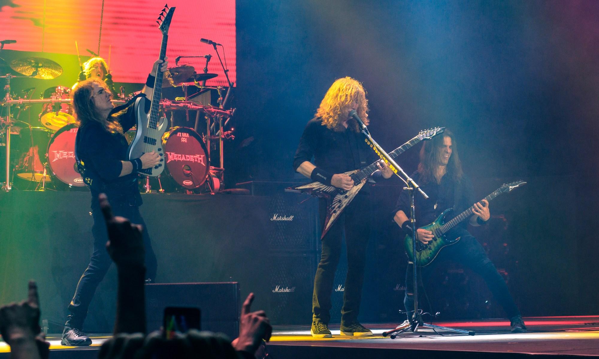 Megadeth deve ser uma das atrações do Knotfest Brasil