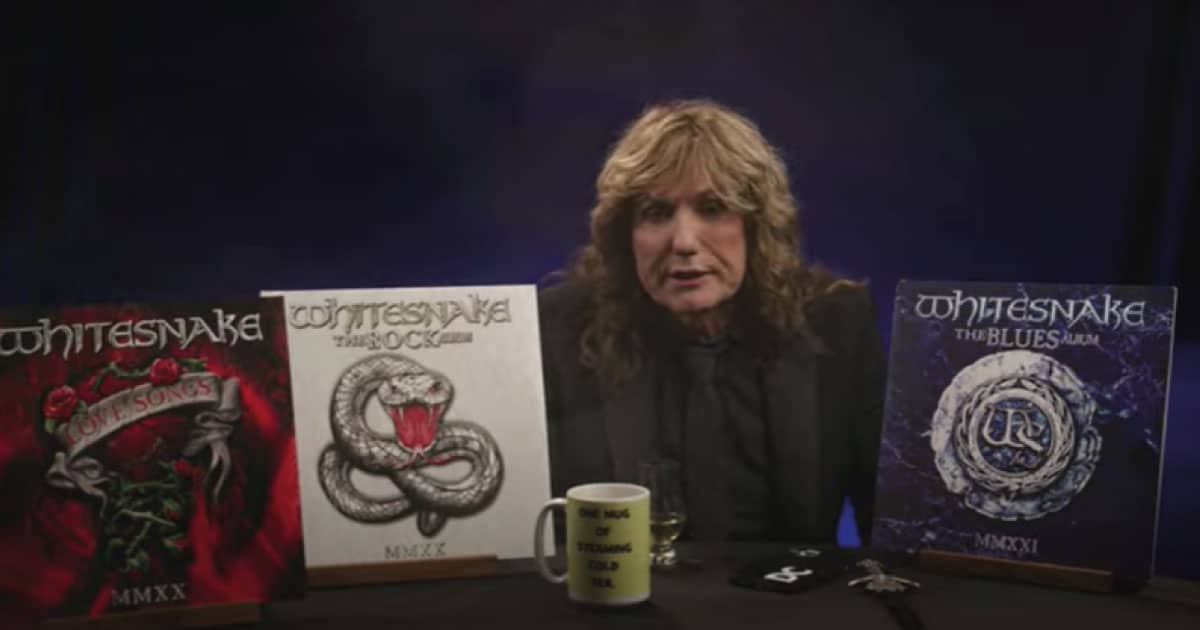 "Whitesnake lança última parte de trilogia ""Red, White And Blues"""