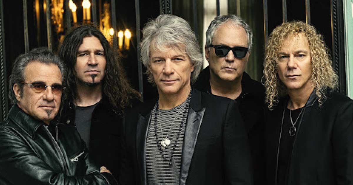 Bon Jovi realiza show no formato drive-in em maio