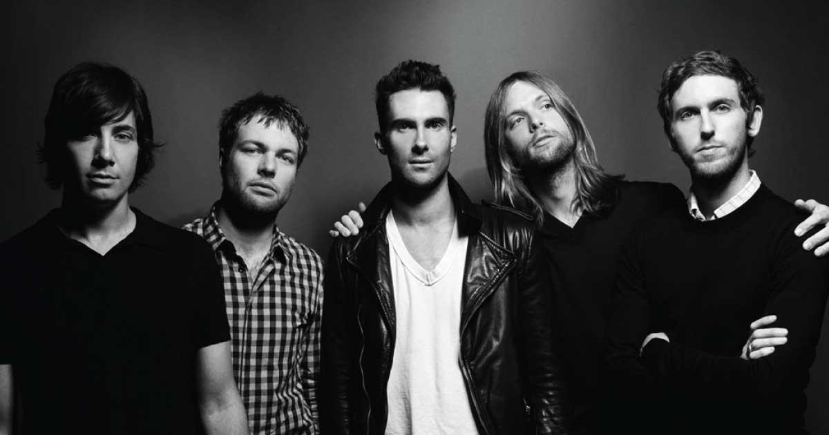 Maroon 5 anunciou o lançamento de novo álbum em junho