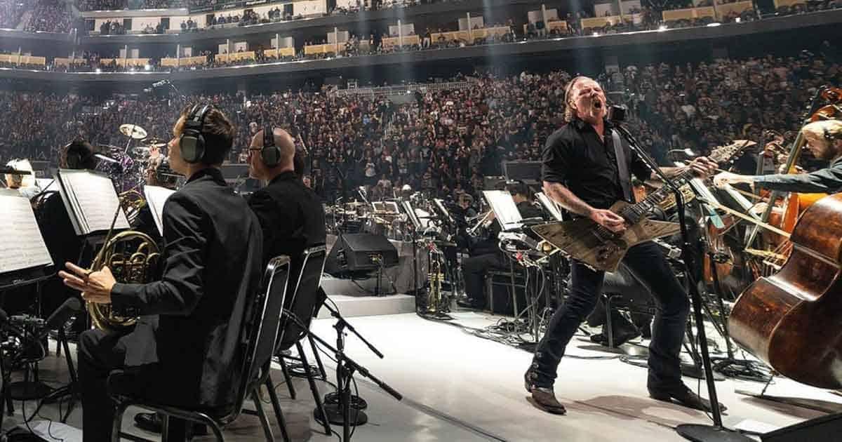 """Ouça """"Ride The Lightning"""" do Metallica com orquestra"""